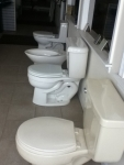 TOILETS BY TOTO AND ELJER